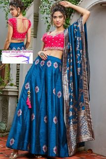 unique piece describes a synchronised feel- Lehenga Choli