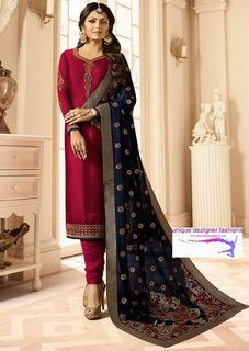 Look classy and traditionally elegant in this
