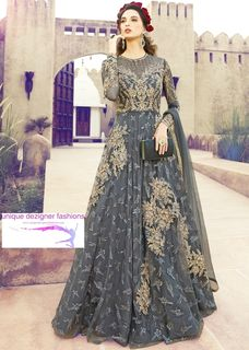unique designer piece- Anarkali Suit