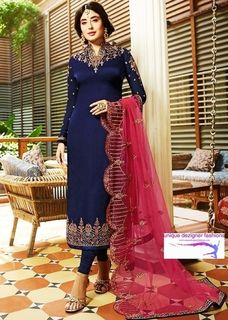 Look smart and beautiful wearing- Anarkali Suit