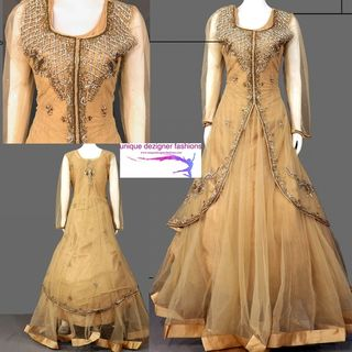 graceful and stylish-Anarkali Suit
