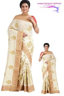 Grab this eyecatching silk saree