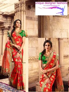 Elevate your ethnic aura by draping this saree