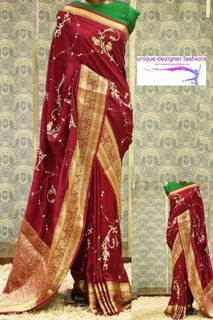 Enhance your timeless beauty-Exclusive Kanchipuram Silk Saree