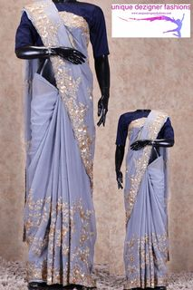 Look glamorous in this saree