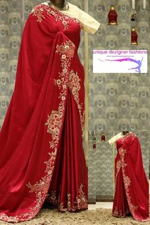 Grab this eyecatching designer Saree