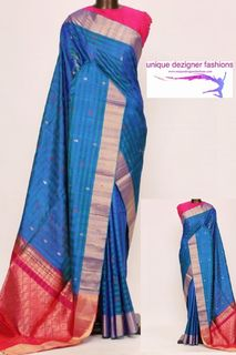 Dazzle the event with this bold and exquisite saree