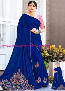 Style yourself with this trendy  saree