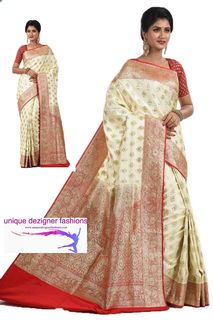 Drape this beautiful silk saree