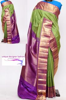 Style yourself wrapping this gorgeous saree