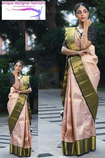 Look stunning kanchipuram silk saree