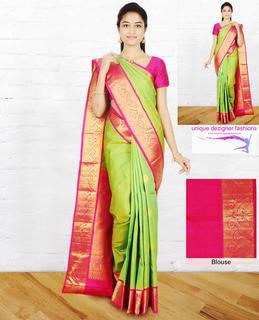 82f64c6965e08 Be a charmer in this splendid - Kanchipuram Silk Saree