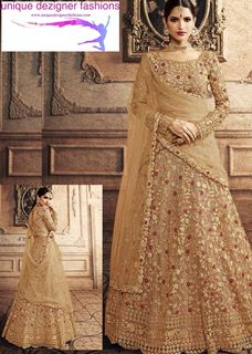 Adorn yourself in the traditional yet modern lehenga