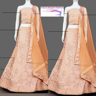 Feel the embracing charm of the new trending style- Lehenga Choli