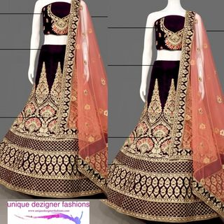 Look classy and sophisticated in this beautiful Lehenga Choli