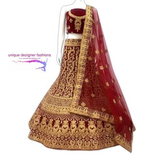 Elegance is the only beauty that never fades-Bridal Lehenga Choli