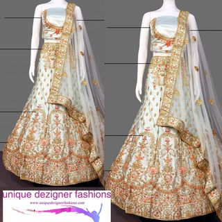 Enhance your timeless beauty drape this lehenga choli