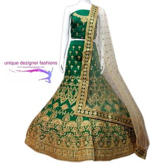 Look suave in this bold and classic  lehenga choli