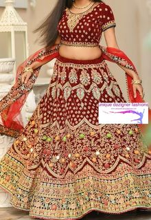 fascinating lehenga which enhances your charisma