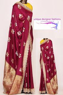 Drape this fashionable saree