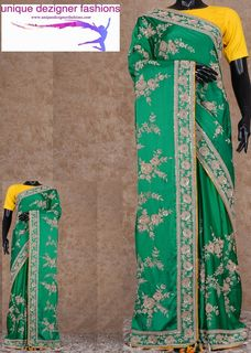 Alluring and elegance defines this organza saree