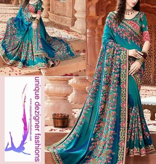 Glam up with this Designer Saree