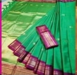 Wrap up your look in this  stunning saree