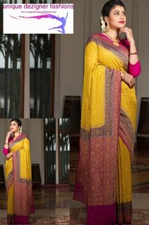 Ace the perfect festive look with this stunning saree