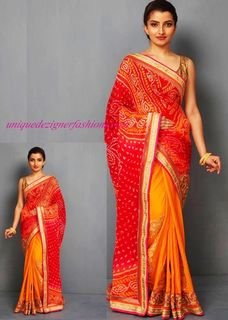 Look stuning in the elegant saree