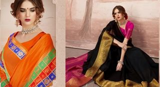 Drape in style  in this  saree
