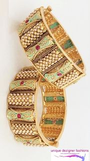 Gold Plated  Bangals
