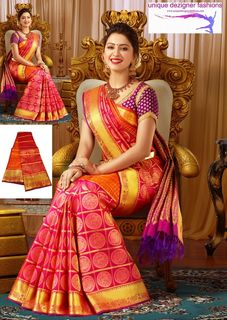 Unleash your charm by draping  Saree
