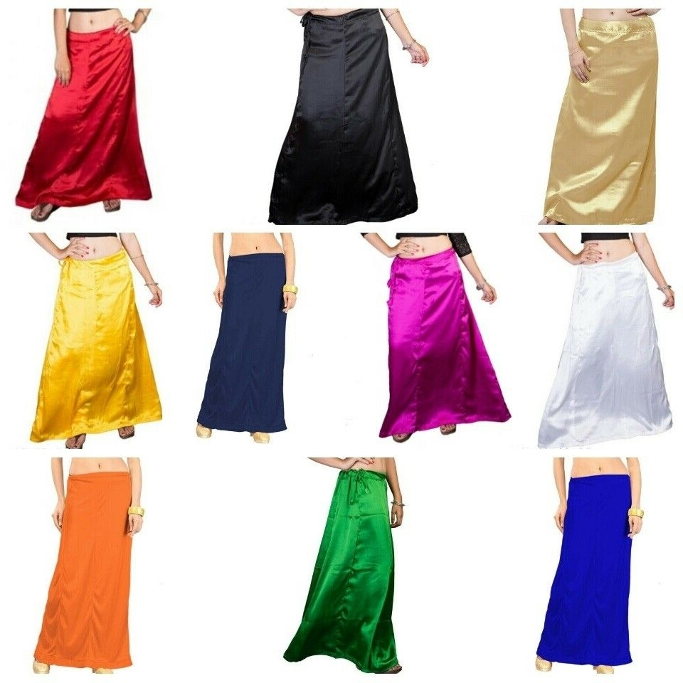 Match Your Saree With Petticoat